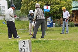 有漢グラウンドゴルフ大会、毎年開催